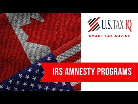 IRS Amnesty Programs