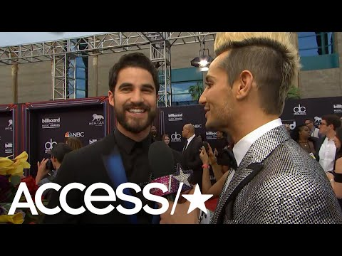 Darren Criss On His Met Gala Outfit, His Upcoming Tour With 'Glee' Co-Star Lea Michele | Access