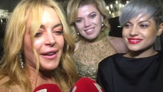 Lindsay Lohan's BIZARRE New Fake Accent | What's Trending Now