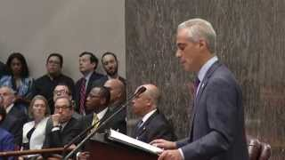 Mayor Emanuel Presents Balanced 2016 Budget to City Council