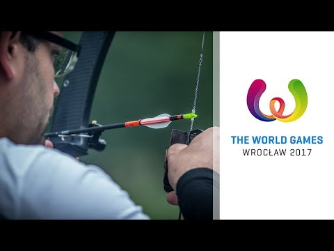 Full session: Barebow men's shoot-up | Wroclaw 2017 World Games