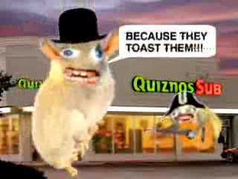 I've Never Stopped Thinking About The Quiznos Spongmonkey Commercials