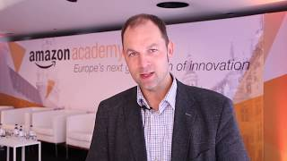 Gambar cover Amazon Academy Brussels - Europe's next generation of innovation