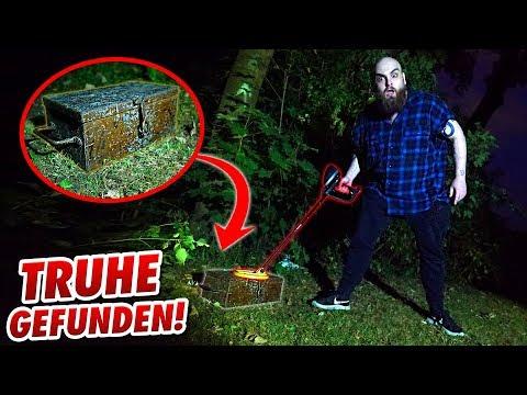EXPERIMENT: Metalldetektor Schatzsuche 2 ! Gadget Fun !