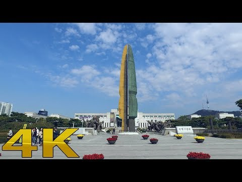Seoul tour War Memorial Full Version 4k
