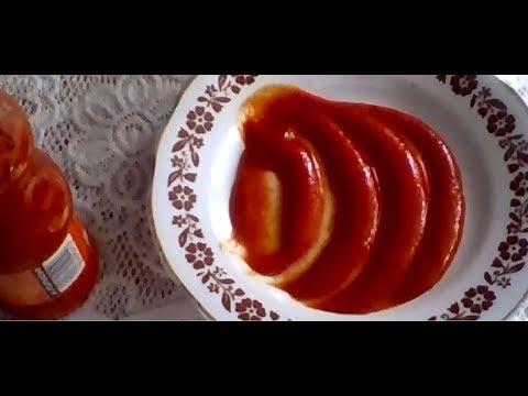 კეჩუპის სახლში მომზადების ყველაზე კარგი და გემრიელი რეცეპტი Ketchup,Кетчуп)