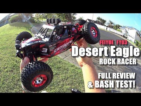 FEIYUE FY03 DESERT EAGLE 3 4X4 1/12  Review -  [UnBox, Inspection, Drive/CRASH Test, Pros & Cons]