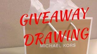 GiveAway Drawing   2014 Thumbnail
