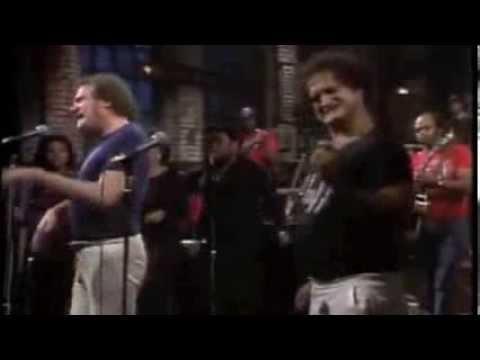 P: Joe Cocker and John Belushi  Feelin' Alright