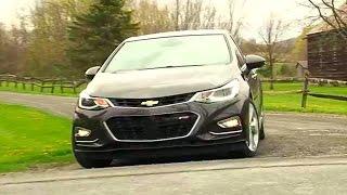 2016 Chevrolet Cruze - TestDriveNow.com Review by Auto Critic Steve Hammes