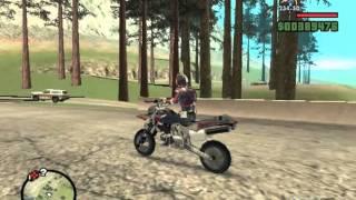GTA SA -Kamen Rider Autovajin Bike Testing