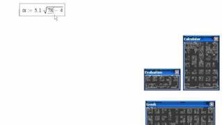 Mathcad-04. Ввод формул