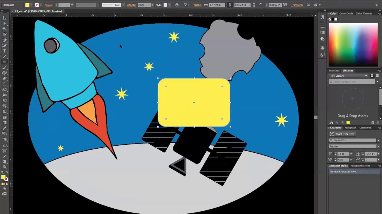 Book color illustrator - Adobe Illustrator Cc 2015 Classroom In A Book Lesson 3 Tips And Tricks Part 1