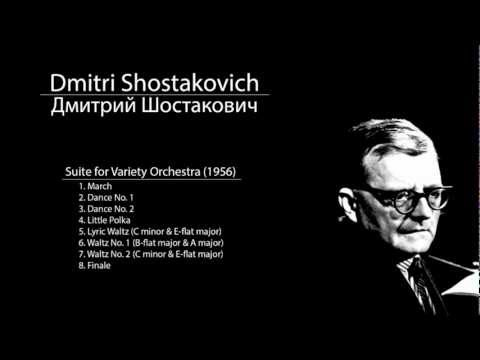 Shostakovich - Suite for Variety Orchestra - 4. Little Polka
