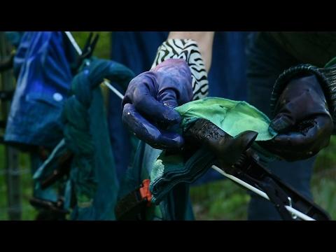 The magical art of indigo dyeing