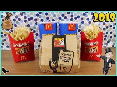 Australian McDonald's Monopoly 2019 Sticker Peeling + Mobile App | Birdew Reviews