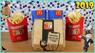 Australian McDonald's Monopoly 2019 Sticker Peeling + Mobile App   Birdew Reviews