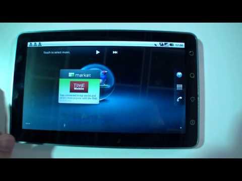 ViewSonic ViewPad 7 English Hands On at IFA 2010