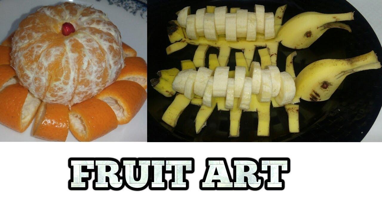 Fun Fruit Salad Decoration Ideas Fruit Carving Banana Art Keenu