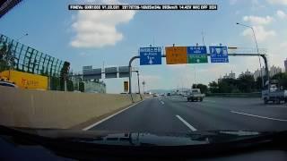 파인뷰 GXR1000 블랙박스 고속도로 주행영상