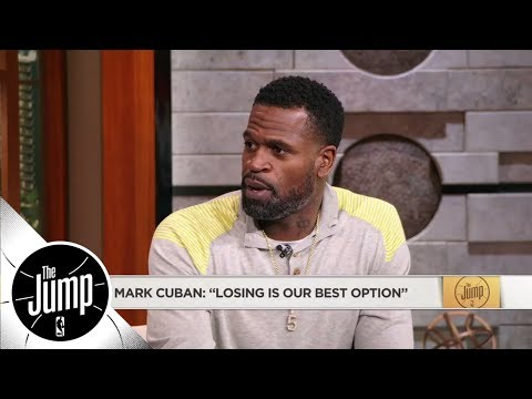 Stephen Jackson challenges Mark Cuban saying losing is Mavericks' 'best option' | The Jump | ESPN