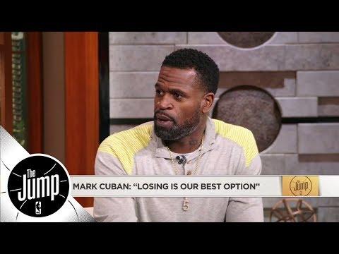Stephen Jackson challenges Mark Cuban saying losing is Mavericks' 'best option' | The Jump | ESPN