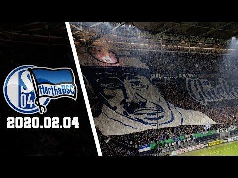 Schalke-Ultras Choreo | FC Schalke 04 - Hertha Berlin 2020.02.04 | S04 - BSC 23