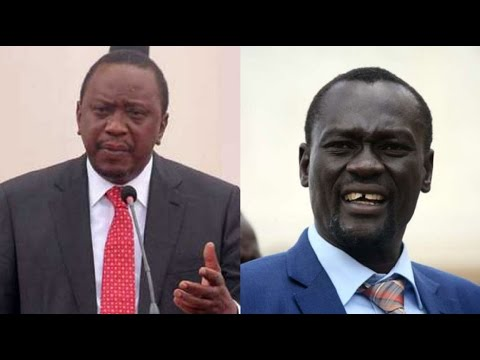 President Kenyatta & Governor Nanok in heated exchange in public