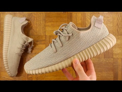 b22c850e8 ADIDAS YEEZY 350 BOOST OXFORD TAN REVIEW! - YouTube
