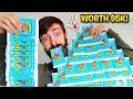 Unboxing 1000 Fortnite TRADING CARDS! (Luckiest Opening)