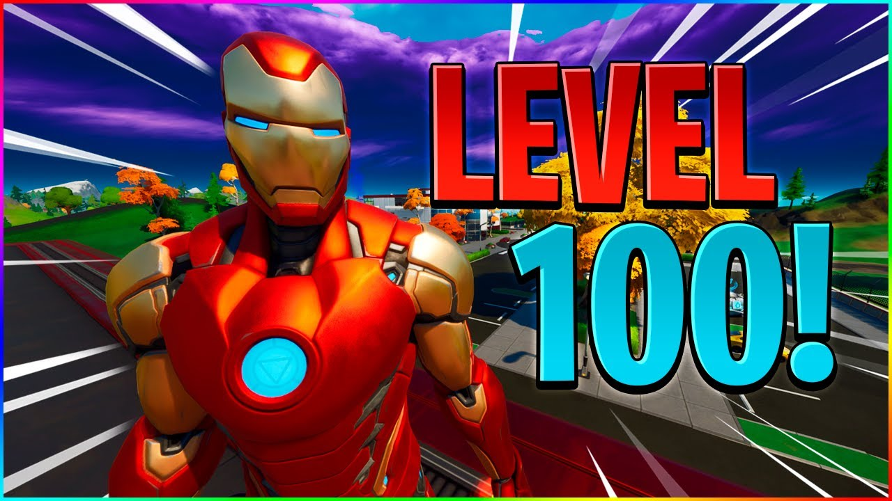 LEVEL *100*! UNLOCKER IRONMAN! - Dansk Fortnite