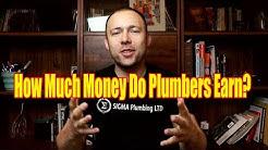 How Much Money Do Master Plumbers/Journeymen/Apprentices Earn/Make/Salary 2018