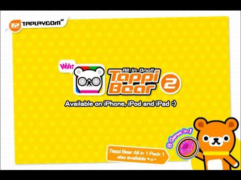 Tappi Bear All in 1 - Pack 2 iPhone/iPad Gameplay (Universal) - 동영상