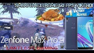 Zenfone Max Pro M1 PUBG SMOOTH + EXTREME 60 FPS Vikendi Chicken Dinner Full Gameplay