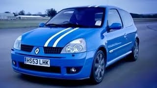 Renault Clio 182 Road Test & Review | Top Gear