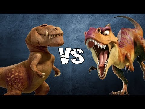 Butch (The Good Dinosaur) vs Mamma Rex (Ice Age 3)   SPORE thumbnail