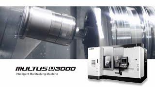 Multitasking machine multus u3000 2sw1500 - compact h1 turret 【okuma corporation japan】