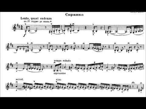 Ravel - Tzigane - Olivier Charlier