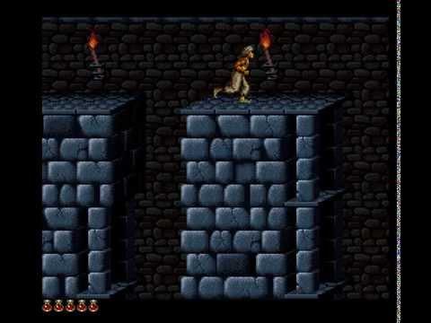 Prince of Persia Longplay (SNES) [50 FPS]