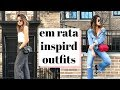MODEL STYLE FOR LESS: Em Rata Inspired Outfits!