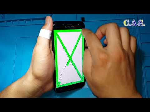 OLED дисплей обзор, ставим на Samsung J7 J730 2017