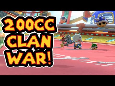 Mario Kart 8 Deluxe 200cc MKU Clan War - BzK Vs. IMP