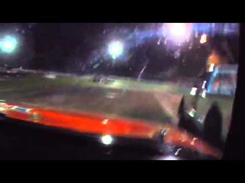 Danny Jackson In-Truck Camera at Lake County Speedway