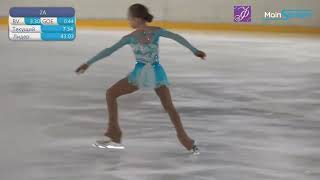 Veronika Zhilina 2020 Moscow Championships Short Program Вероника Жилина КП