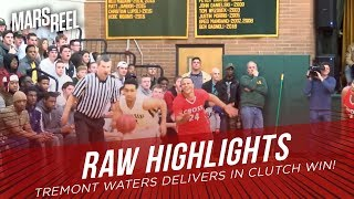 Georgetown Commit Tremont Waters Delivers In CLUTCH WIN! | RAW HIGHLIGHTS