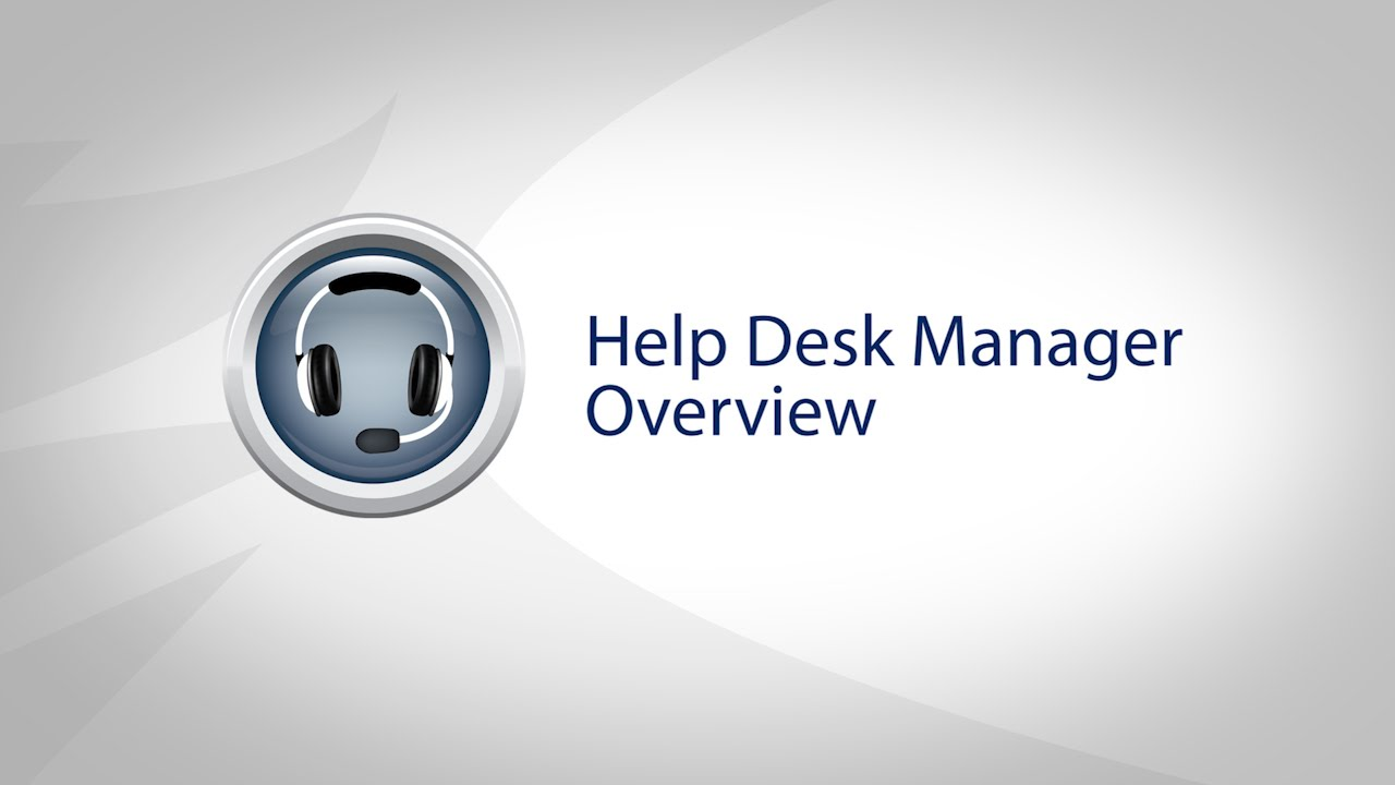 Solarwinds N Able Help Desk Manager Overview And Demo