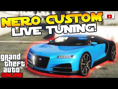 GTA 5 Online Import/Export Update: 🛠🚘Truffade Nero Custom Live Tuning!🛠🚘 [PS4 Gameplay]