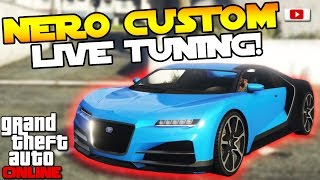 GTA 5 Online Import/Export Update: 🛠🚘Truffade Nero Custom Live Tuning!🛠🚘 [PS4 Gameplay]
