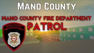 Roblox Mano County Fire Patrol | Action Pack Day!! |