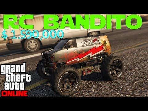 Modifying and Testing the New RC Bandito   GTA 5 Online thumbnail